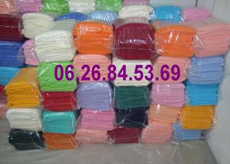 Lot serviettes 100 % coton