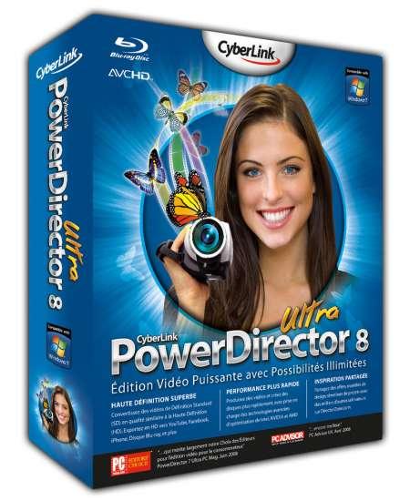 Cyberlink PowerDirector Ultra V 8.0